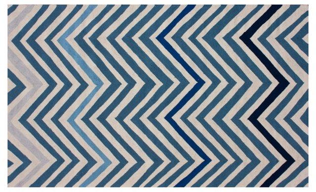 Tribeca Rug, Blue