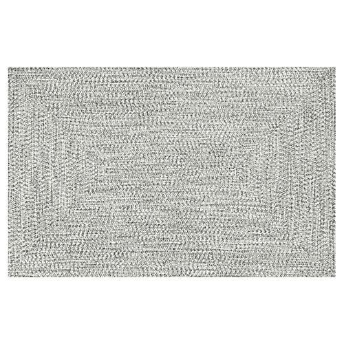 Thaddeus Rug, White/Gray