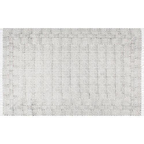 Egmont Flat-Weave Rug, Ivory