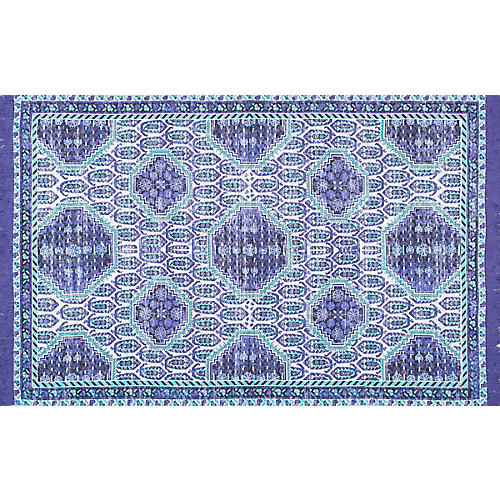 Candy Flat-Weave Rug, Purple