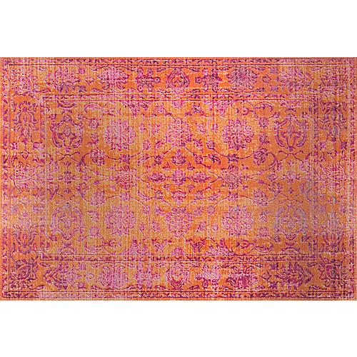 Lisa Rug, Orange/Pink