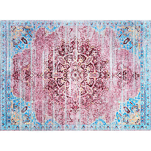 Nettie Rug, Cherry Pink