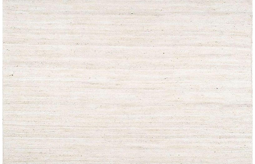 Verona Jute Rug, White