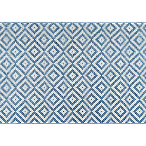 Marybelle Outdoor Rug, Blue