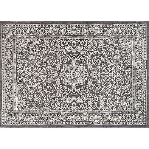 Thomas Paul Outdoor Rug, Gray