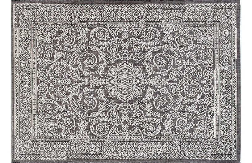 Thomas Paul Outdoor Rug - Gray