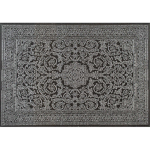 Thomas Paul Outdoor Rug, Black