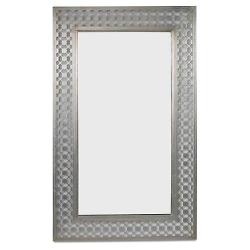 Cielo Mirror, Silver Leaf