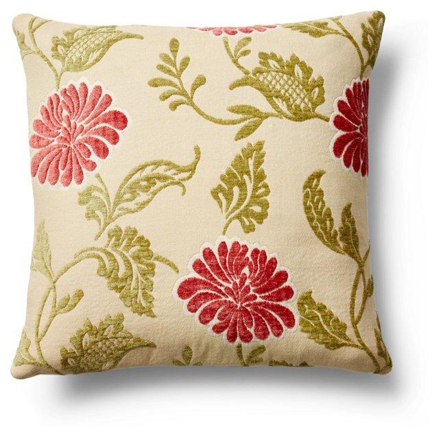 Alli 20x20 Cotton Pillow, Multi
