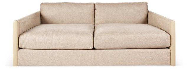 "Wally 67"" Sofa, Beige"