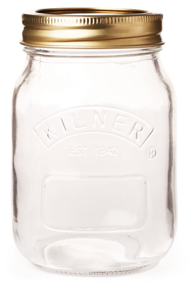 S/6 Preserve Jars, 17 Oz