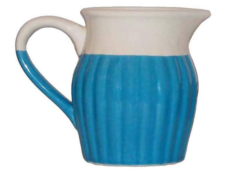 Small Two-Tone Pitcher, Blue