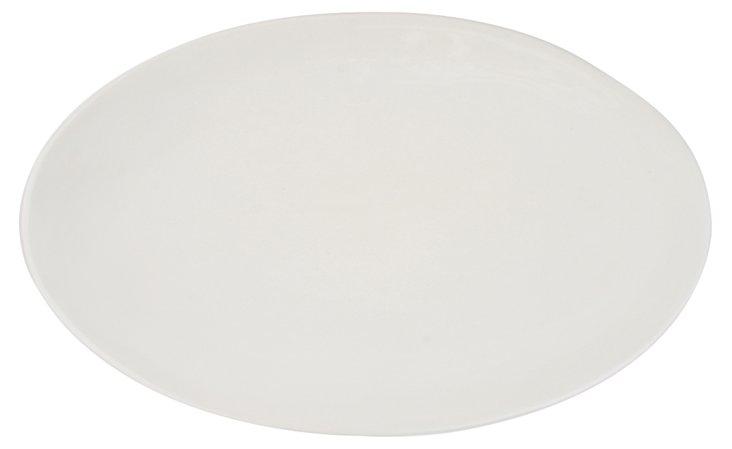 "Seagate Serving Platter, 14"" White"