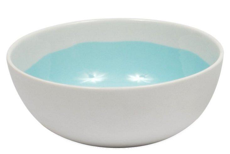 Aqua Glazed Bowl, Large