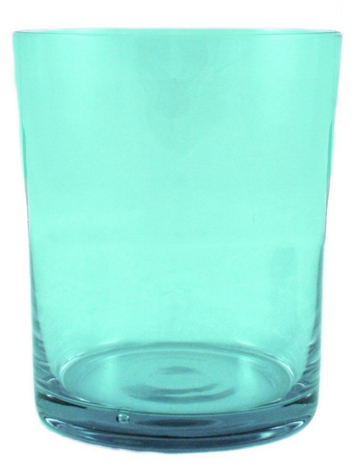 S/6 Lulu Short Glasses, Aqua