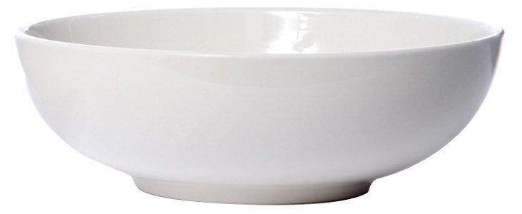 Bistro Large Pasta Bowl, Vintage White