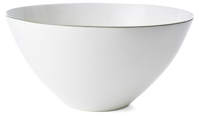 Abbesses Serving Bowl, Gray