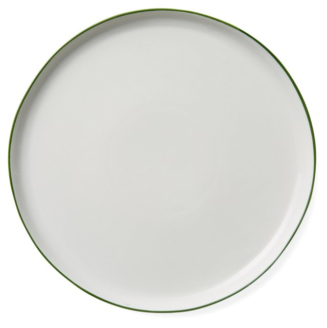 DNU S/4 Abbesses Dinner Plates, Green