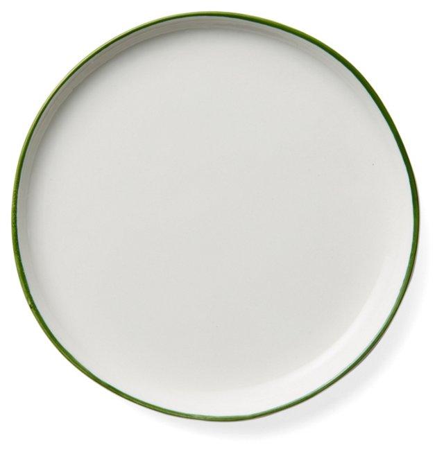 DNU S/4 Abbesses Bread Plates, Green