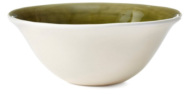 DNU S/4 Seagate Cereal Bowls, Green
