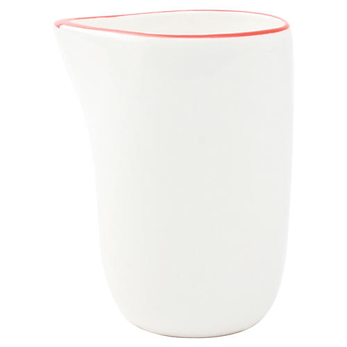 S/4 Abbesses Creamers, Red Rim