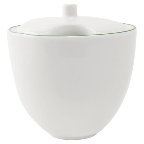 Abbesses Sugar Bowl, Green Rim