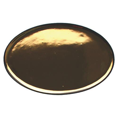 Dauville Platter, Charcoal/Gold