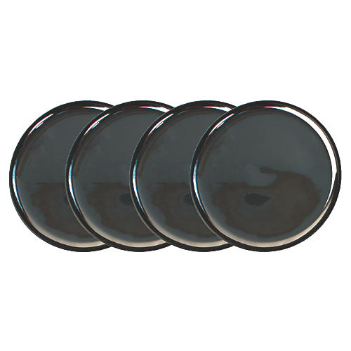 S/4 Dauville Plates, Charcoal