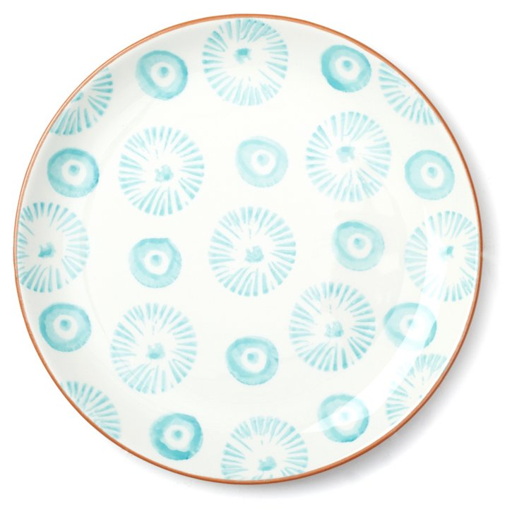 DNU S/4 Terracotta Spongeware Plates