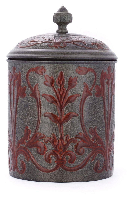 Art Nouveau Cookie Jar