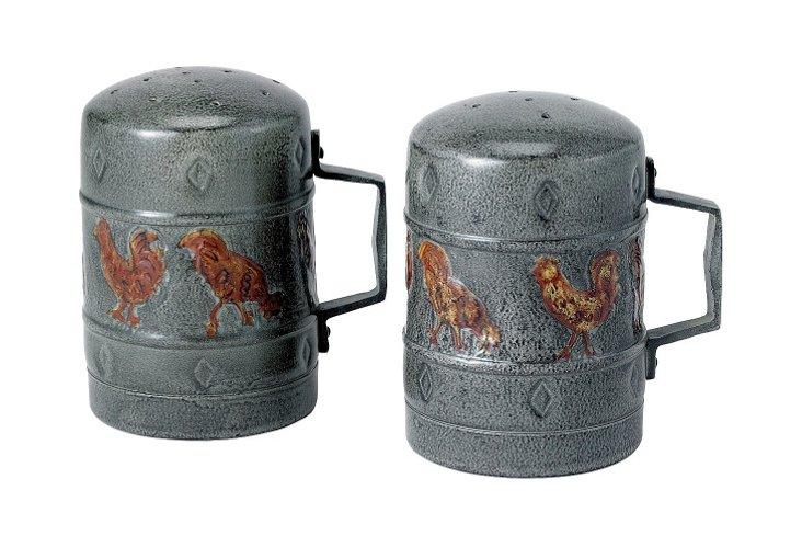 Rooster Salt & Pepper Shakers