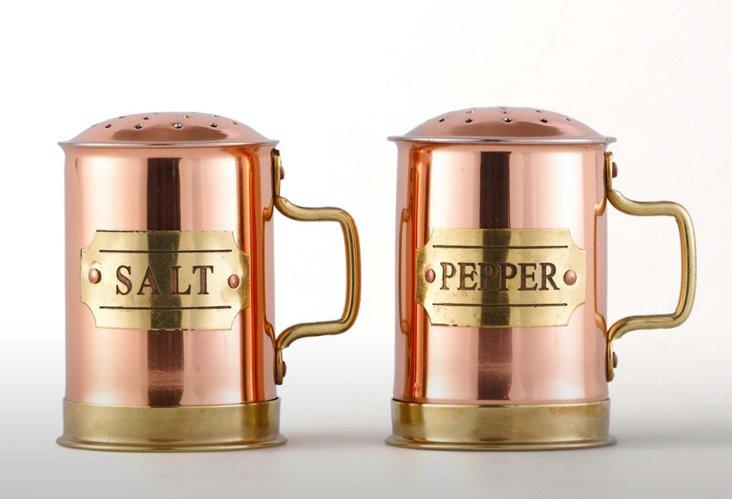 Copper Salt & Pepper Set
