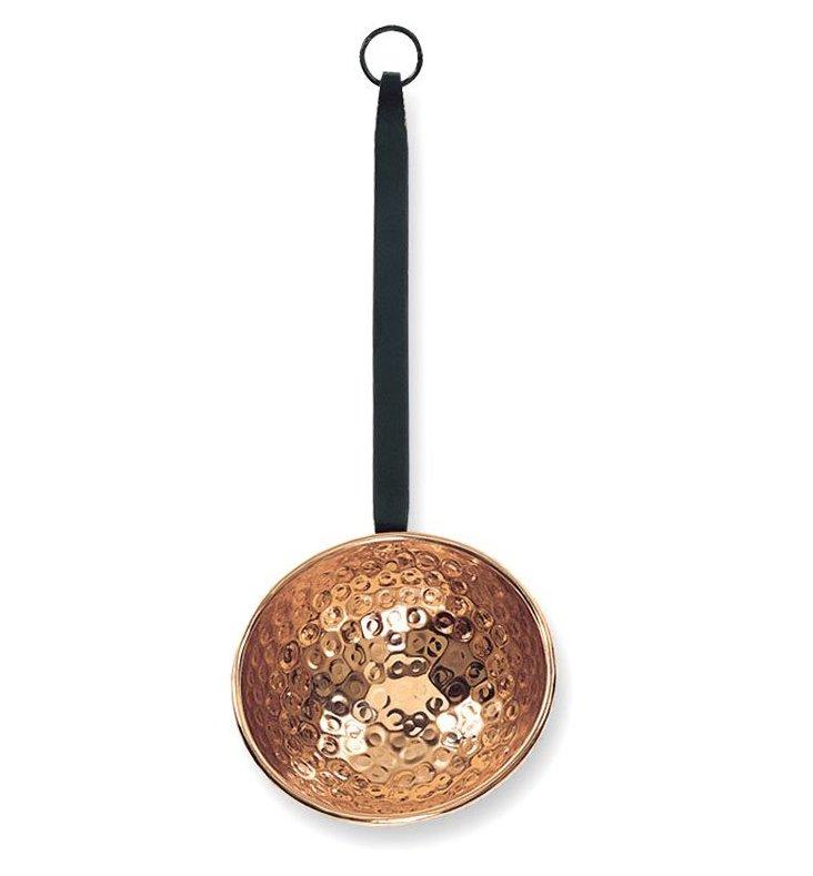 """8"""" Decor Ladle w/ Handle, Copper"""