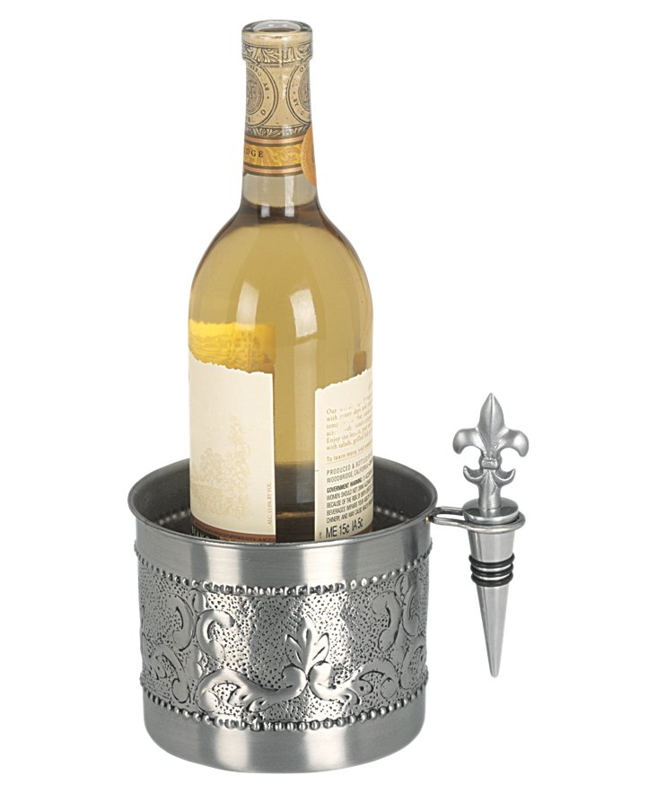 Victoria Wine Coaster w/ Stopper