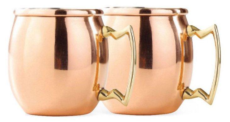 S/4 Solid Copper Shot Mules, 2 Oz