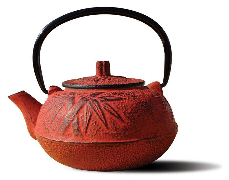 Osaka Teapot, Red