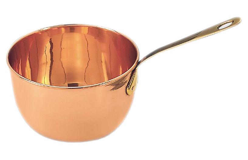 Zabaglione Sauce Pan, Copper