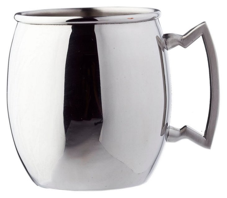 Stainless-Steel Moscow Mule