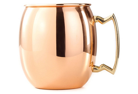 24 Oz Copper Moscow Mule Mug