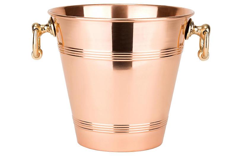 Solid Copper Wine Cooler - 152 Oz