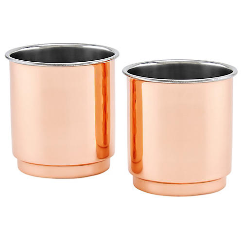 S/2 Iver Tumblers, Copper