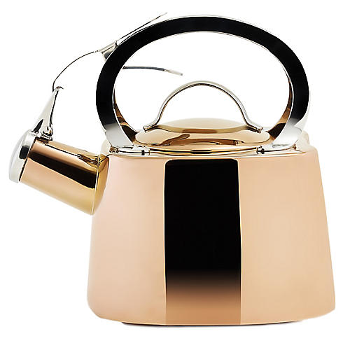 Hayes Tea Kettle, Copper