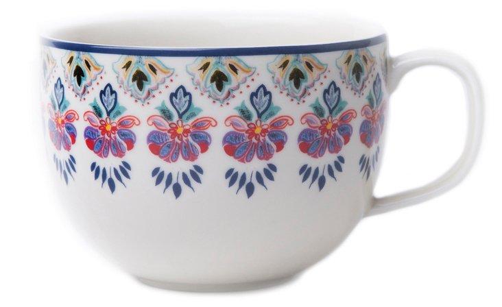 S/4 Talavera Porcelain Mugs