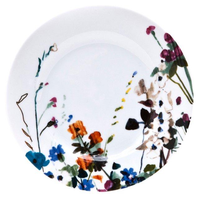 S/4 Padma Wildflower Salad Plates