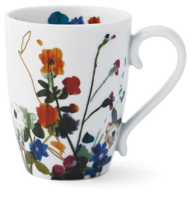 S/4 Padma Wildflower Mugs