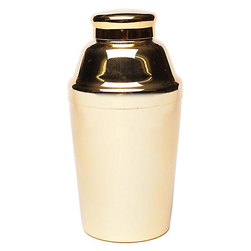 Dean Cocktail Shaker, Gold