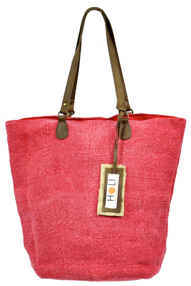Chic Catch Tote, Red