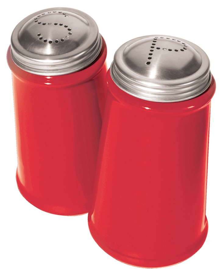 Salt & Pepper Shakers, Red