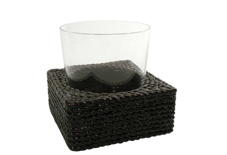 Sea Grass Bathroom Glass Holder