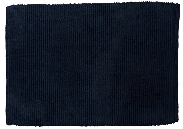 Perennial Bath Rug, Navy